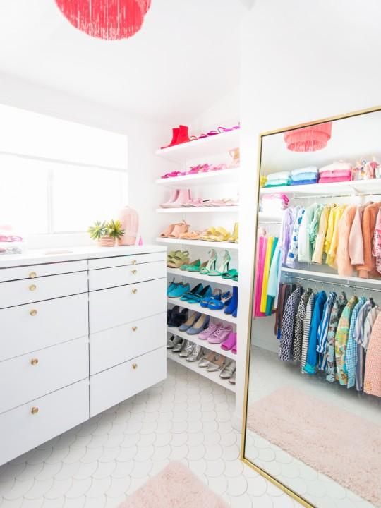 The Ten Organization Tips that Saved My Closet