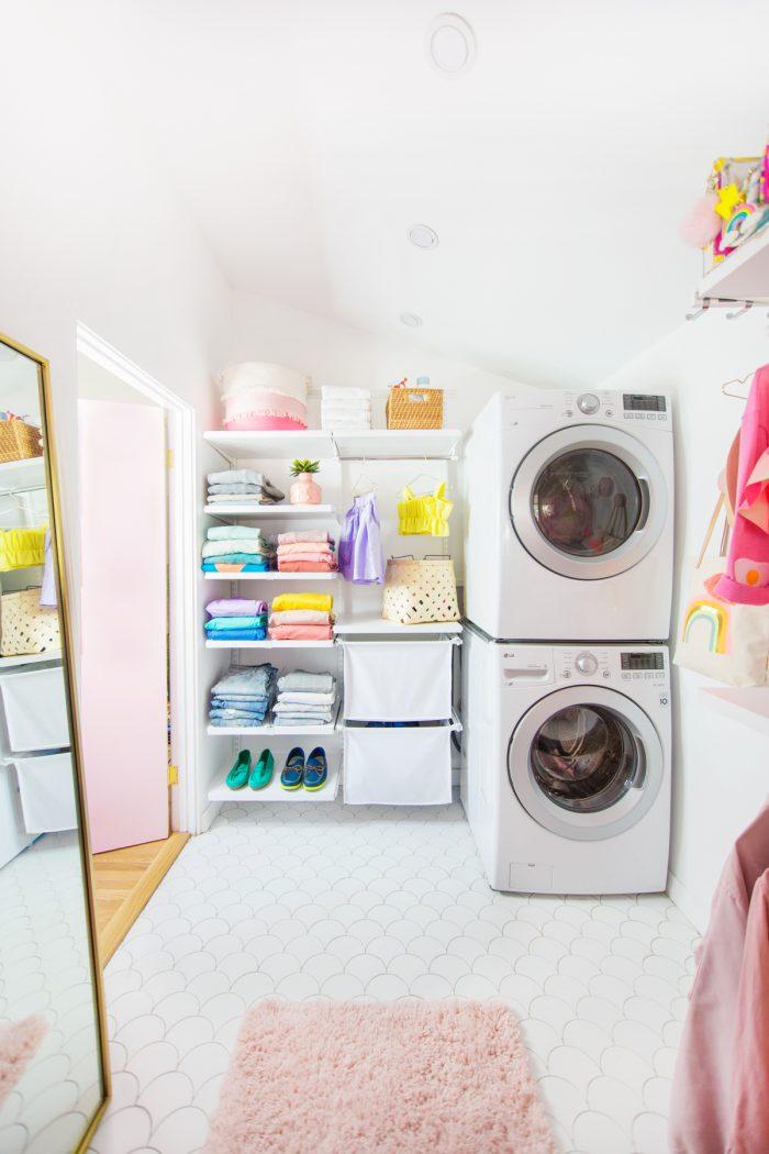Colorful Master Closet Reveal