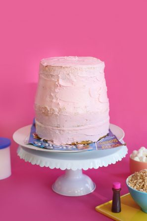 DIY Nail Polish Cakes