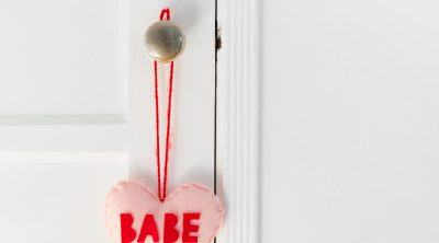 DIY Conversation Heart Tassel Charm