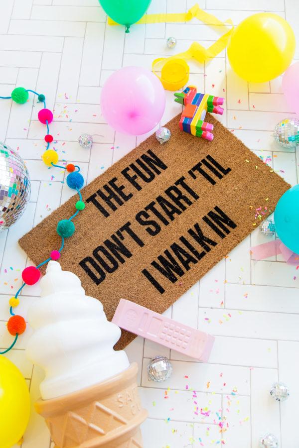 Studio DIY x Josie B Doormat Collab!