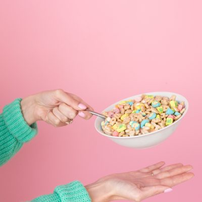 April Fools Day Prank: How To Make Cereal Treat Bowls