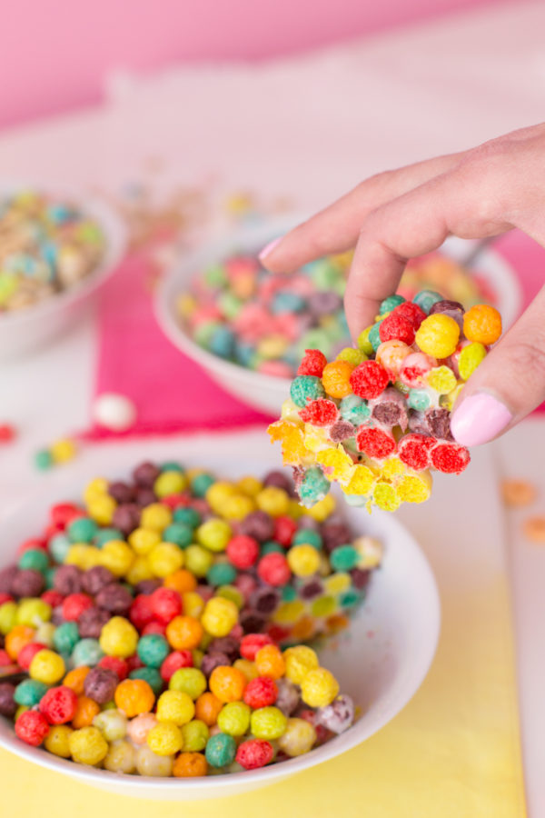 Cereal Treat Bowl April Fools Day Prank