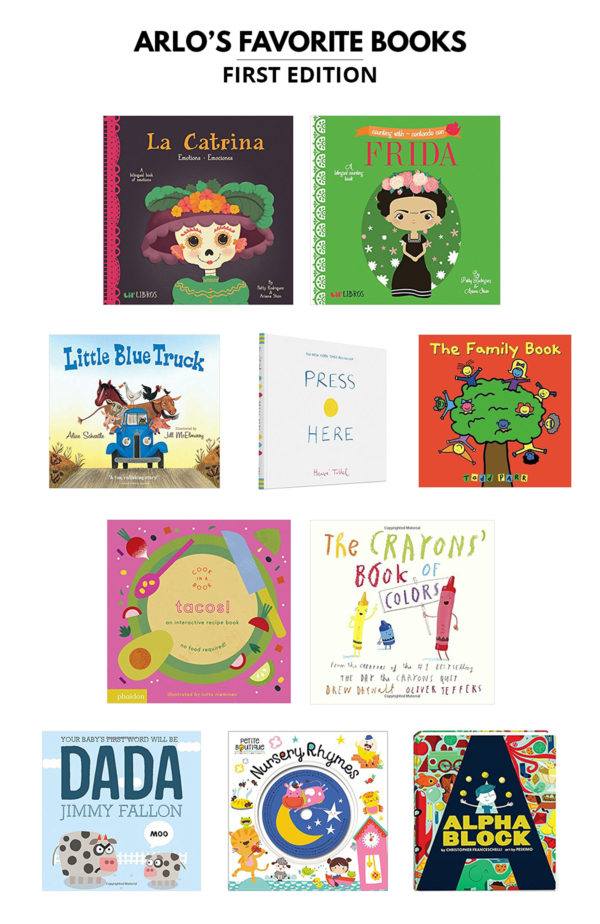 Favorite Books for One Year Olds