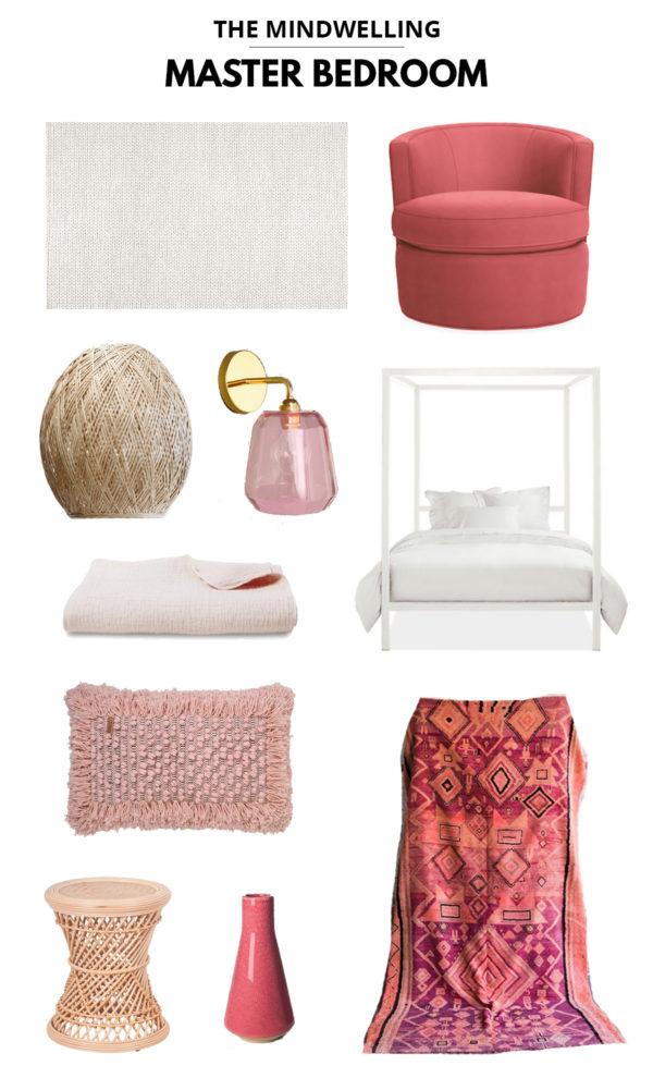 Pink Master Bedroom Inspiration