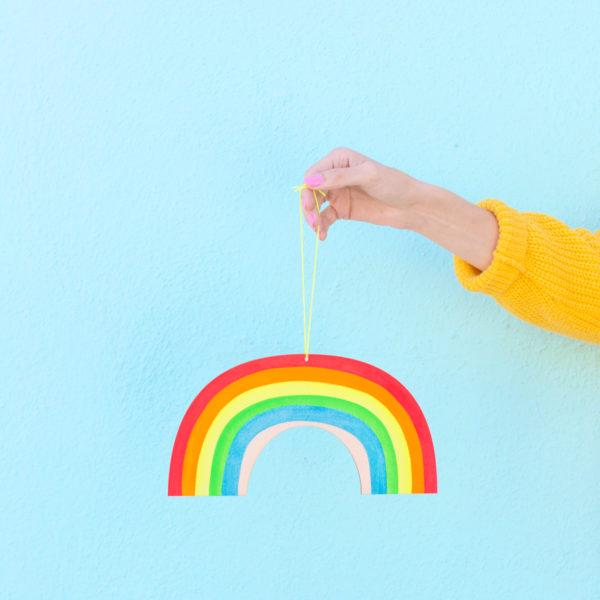 Rainbow Wall Charm