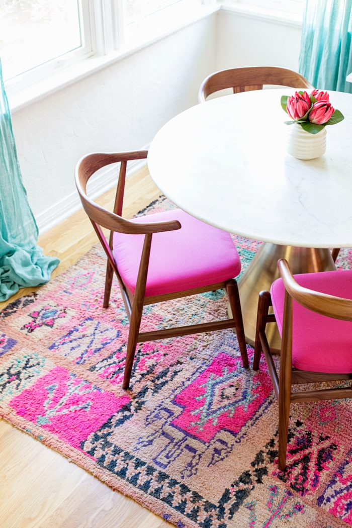 Our Pink Dining Room Reveal