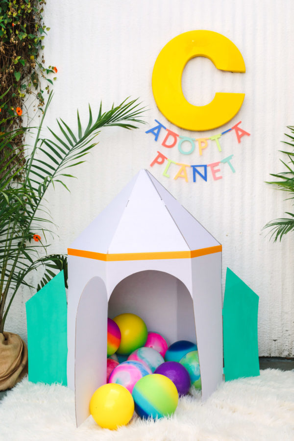 Adopt A Planet Favors | To Infinity and Beyond First Birthday Party