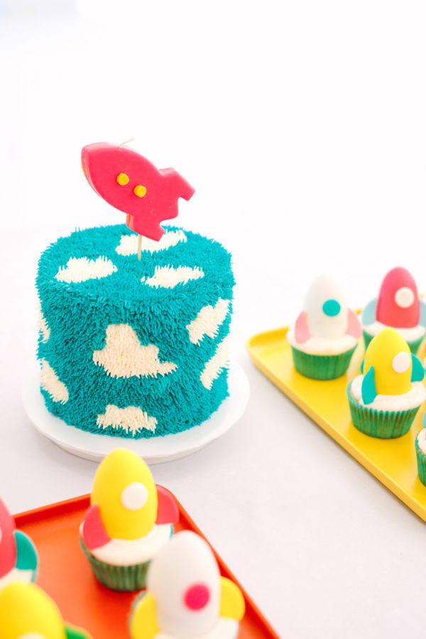 Cloud Cake | To Infinity and Beyond First Birthday Party