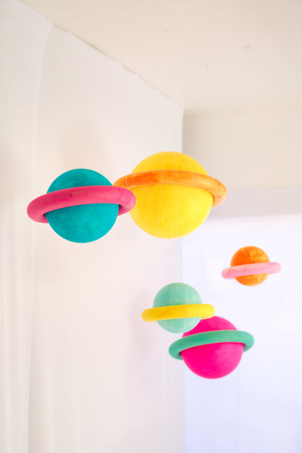 DIY Planets | To Infinity and Beyond First Birthday Party