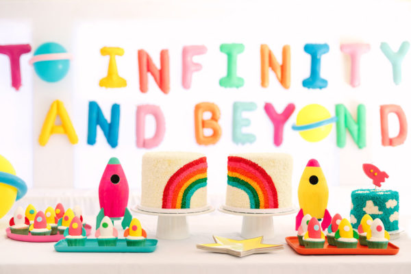 To Infinity and Beyond First Birthday Party