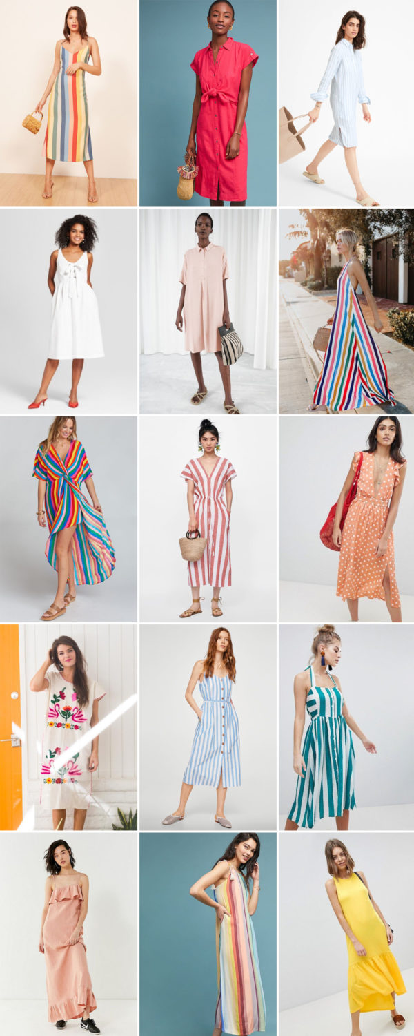 15 Dresses I Want To Live In This Summer