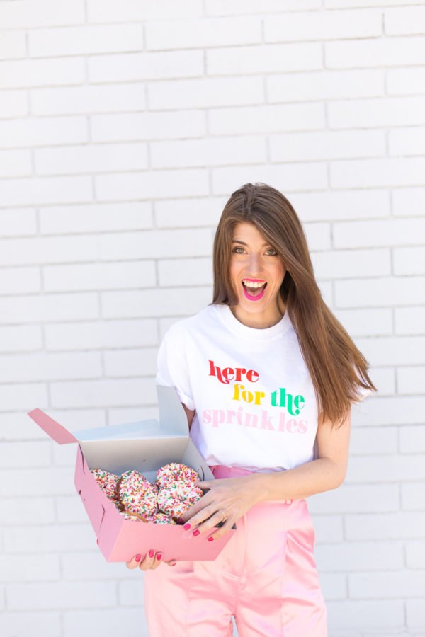 Here For The Sprinkles Tee