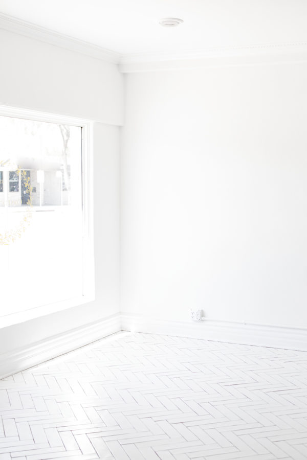 White-Washed Vinyl Floors