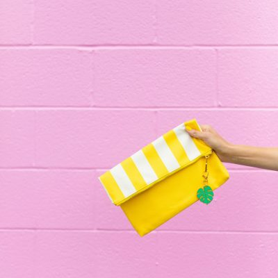 Can't Clutch This Reveal: Cabana Clutch