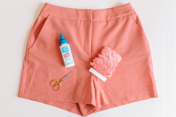 How To Upgrade Basic Shorts with Fringe