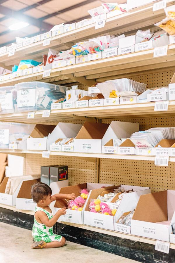 A Peek at the Shop Studio DIY Warehouse