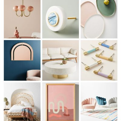 My Favorite Pieces From The New Anthropologie Home Collection