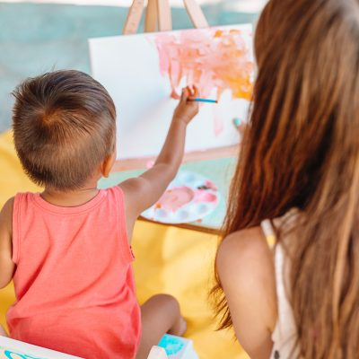 Family Day: Painting with A Toddler