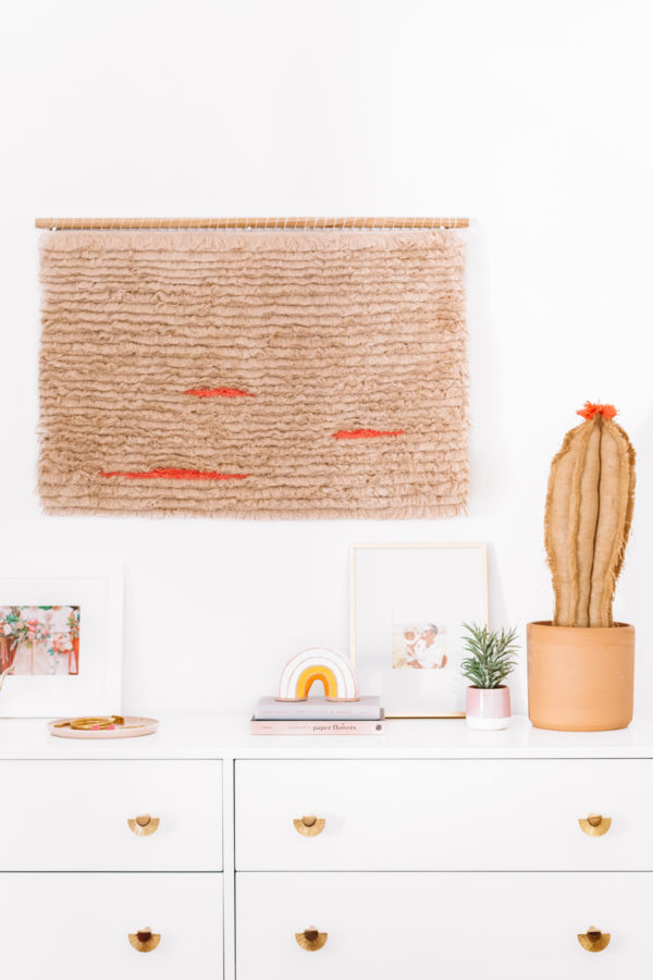 How To Make A Fringe Wall Hanging