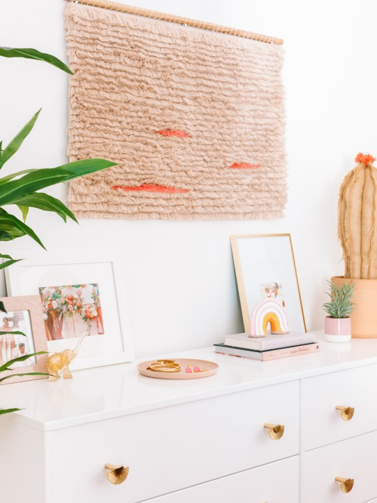 How To Make An Easy Fringe Wall Hanging
