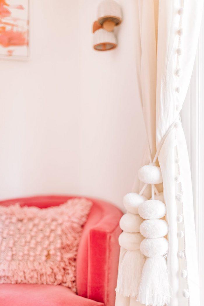 Cozy Pink Master Bedroom Reveal