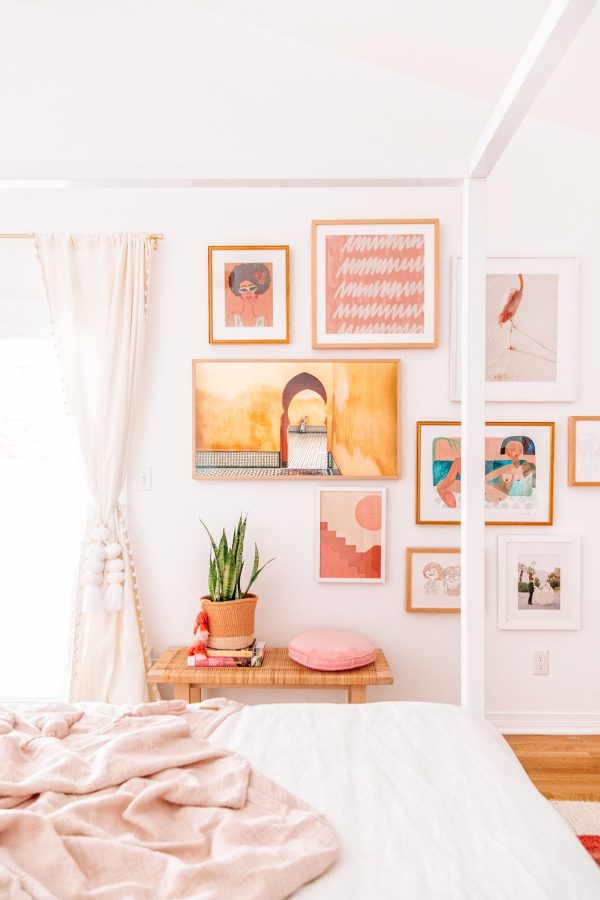 Cozy Pink Master Bedroom Reveal
