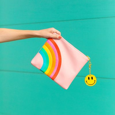 Can't Clutch This Reveal: Rainbow Clutch