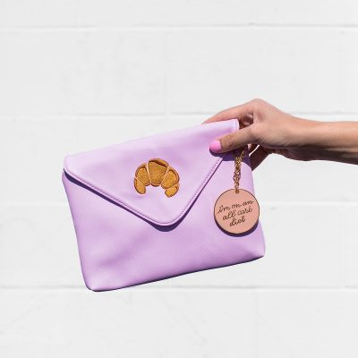 Can't Clutch This Reveal: Croissant Clutch