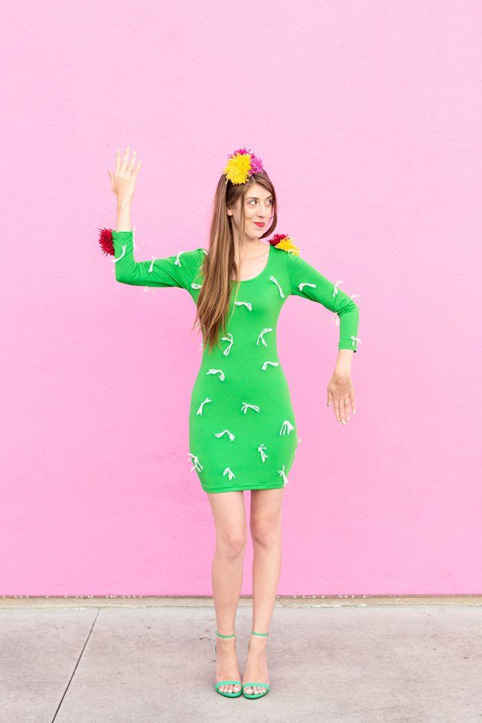 DIY Cactus Costume