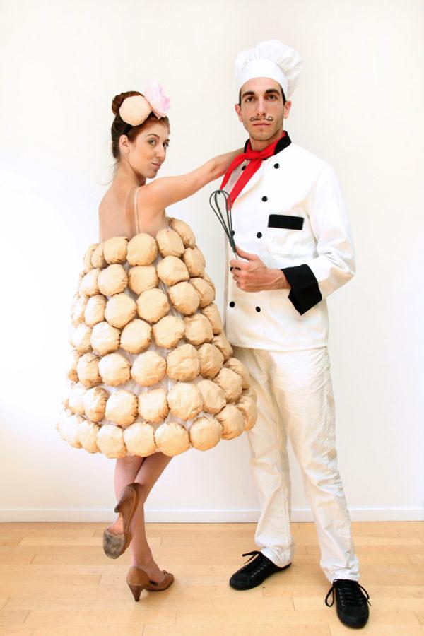 DIY Croquembouche Costume
