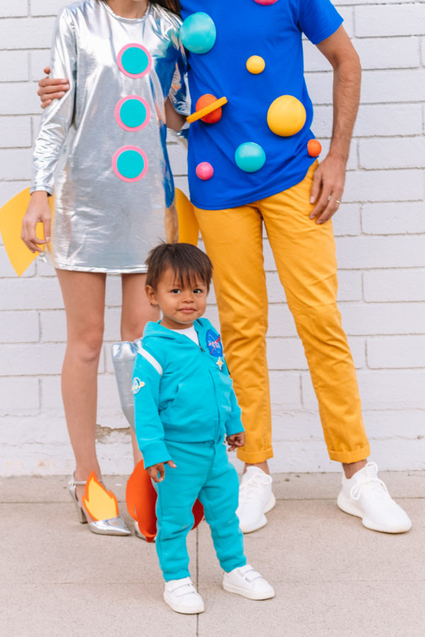 DIY Space Family Costume