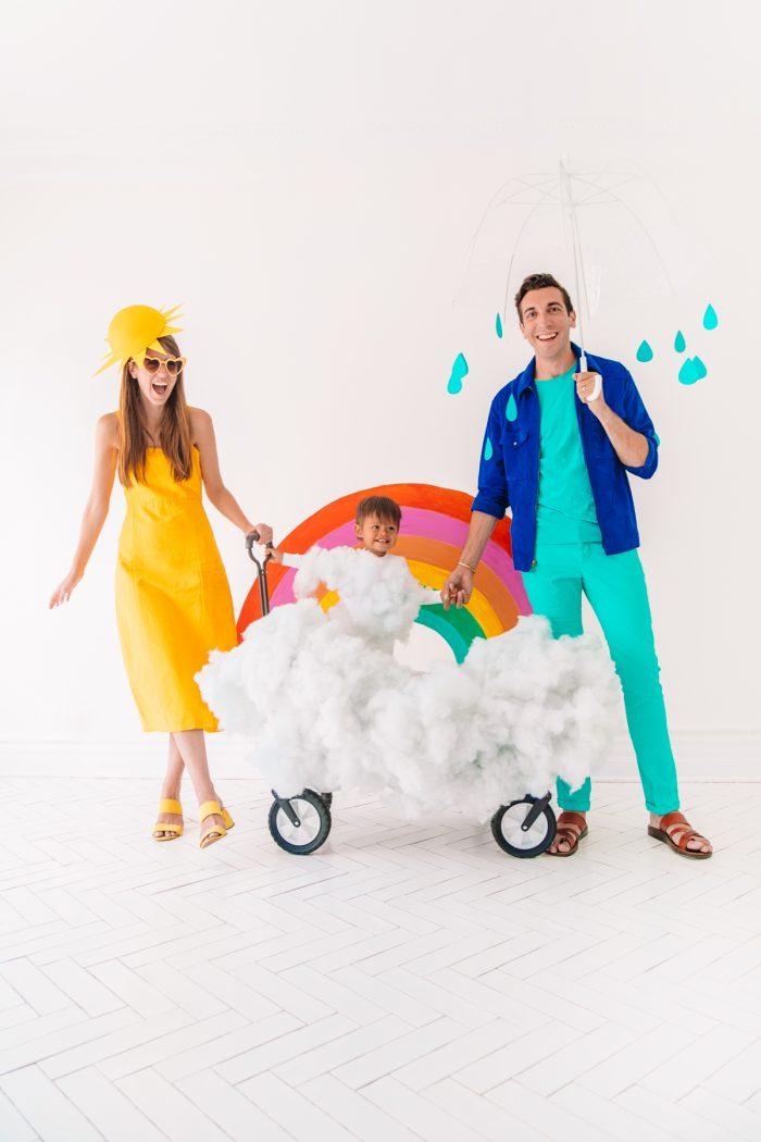 DIY Family Weather Costume
