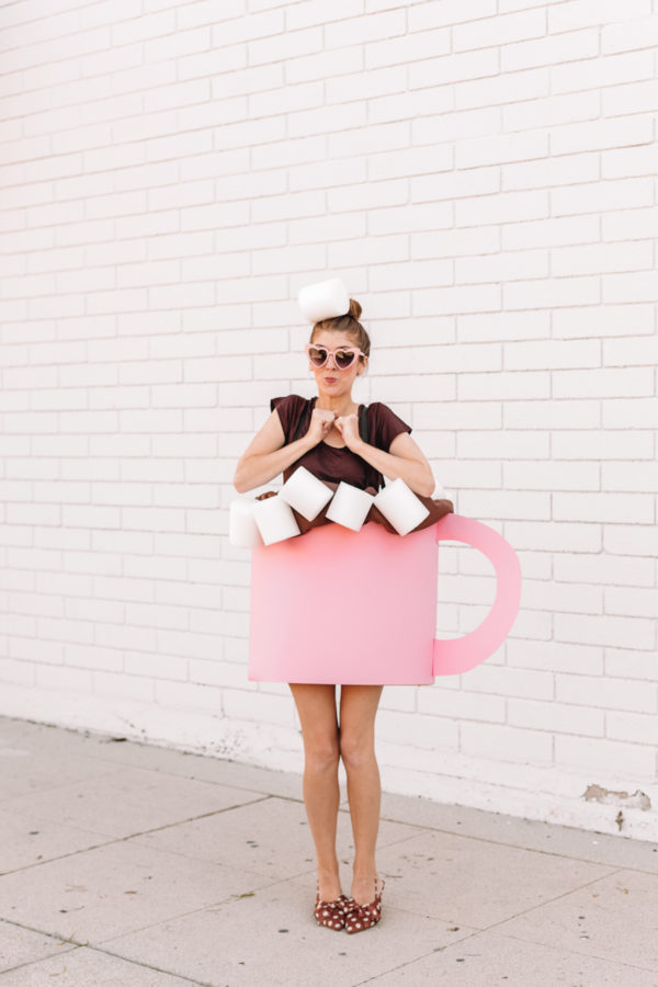 DIY Hot Chocolate Costume
