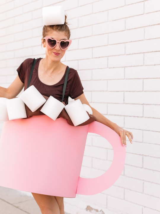 DIY Hot Chocolate Costume