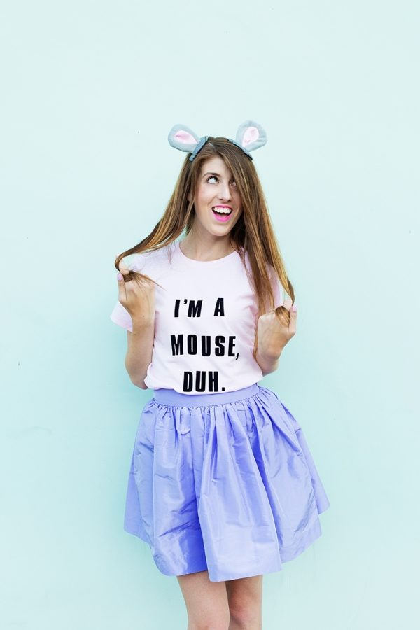 DIY I'm A Mouse Duh Costume from Mean Girls