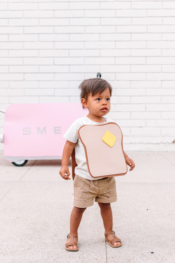 DIY Toaster + Toast Costume for Kids