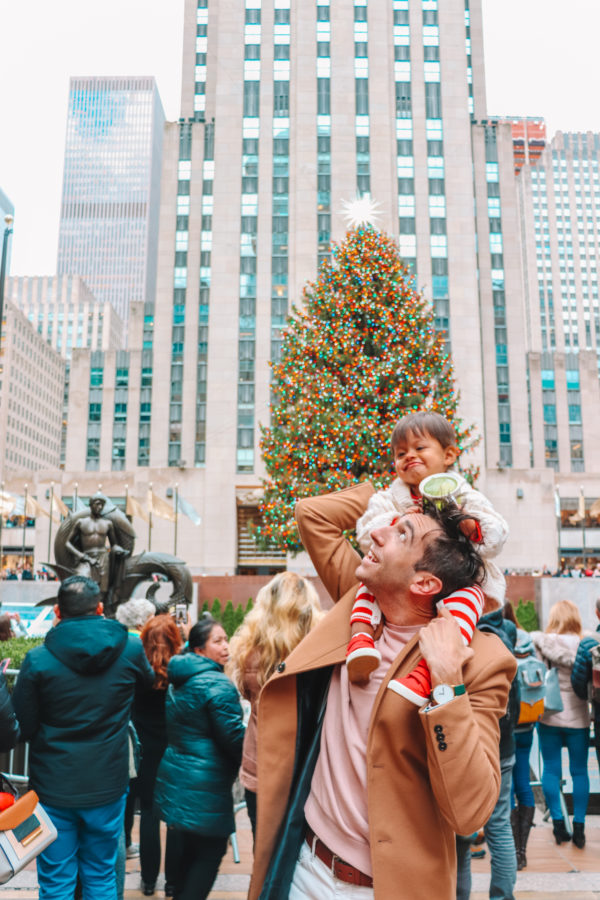 Arlo's First Christmas in NYC
