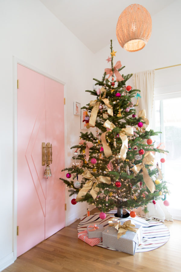 Colorful Holiday Home Tour