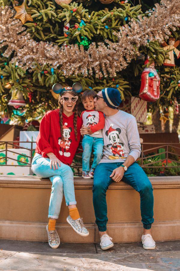 Merry Christmas from Disneyland!