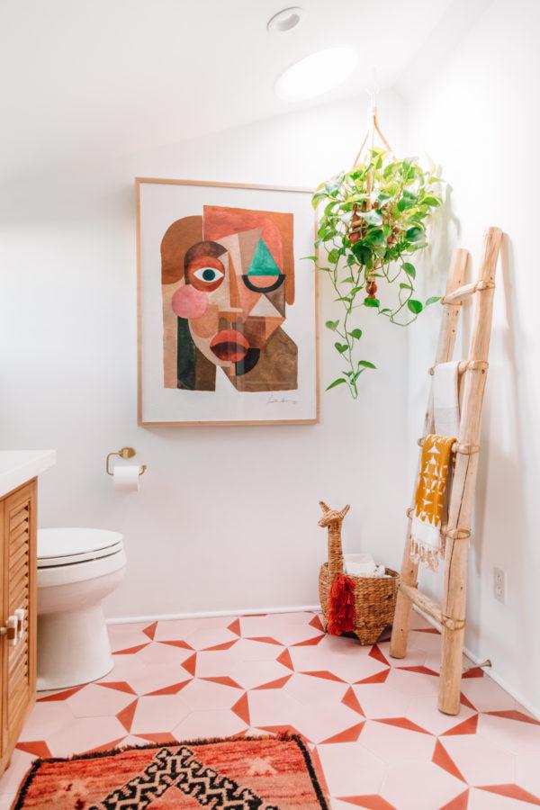 Bohemian Jungalow Bathroom