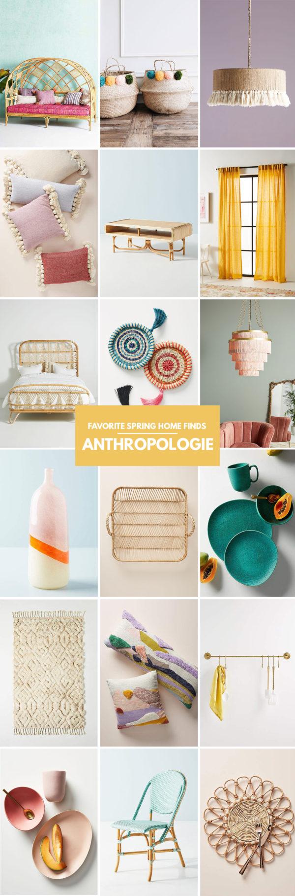 Best Anthropologie Spring 2019 Home Finds