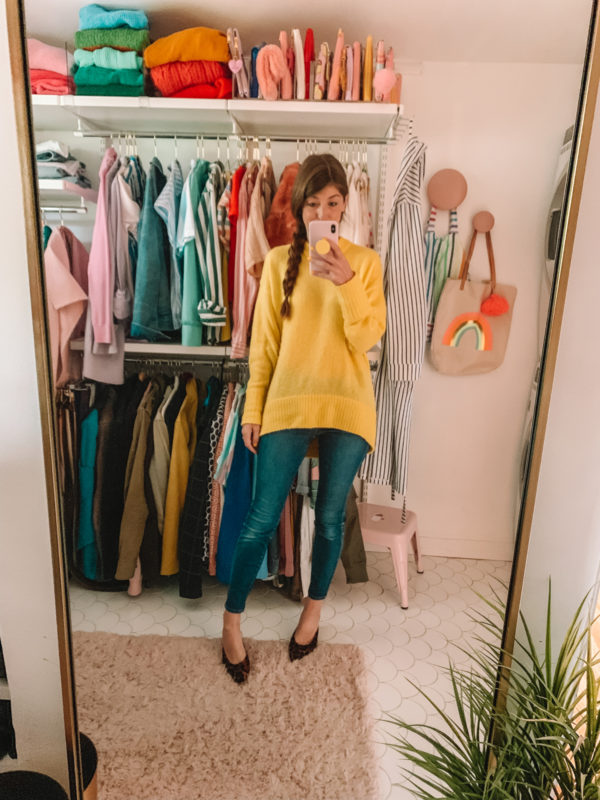 How To Wear Color In The Winter