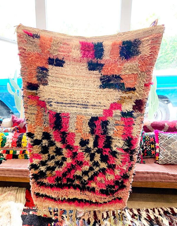 Shades of Pink Vintage Rug