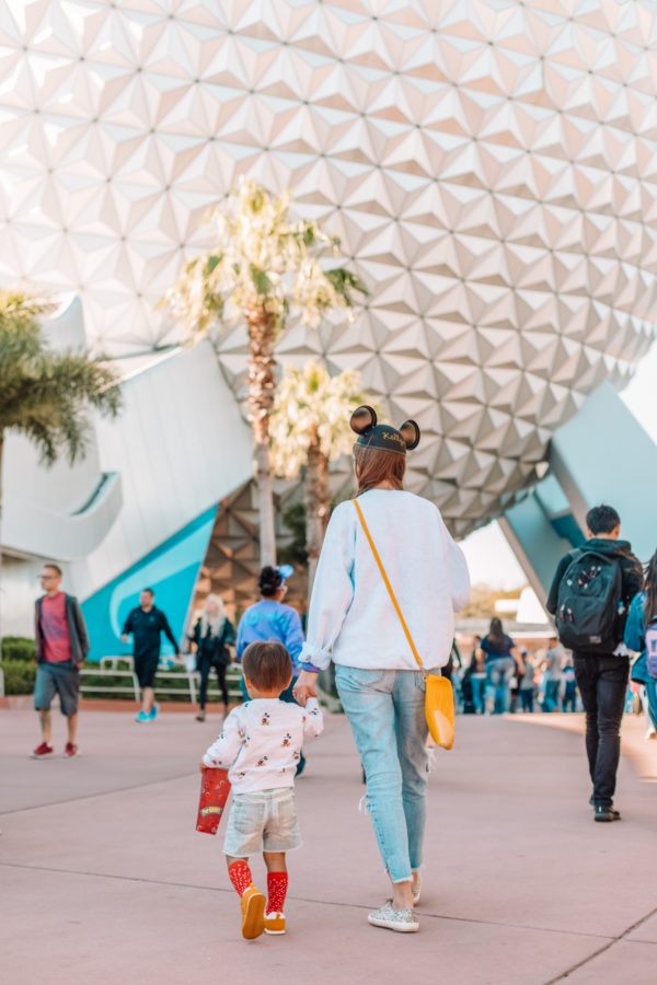 Epcot with Toddlers