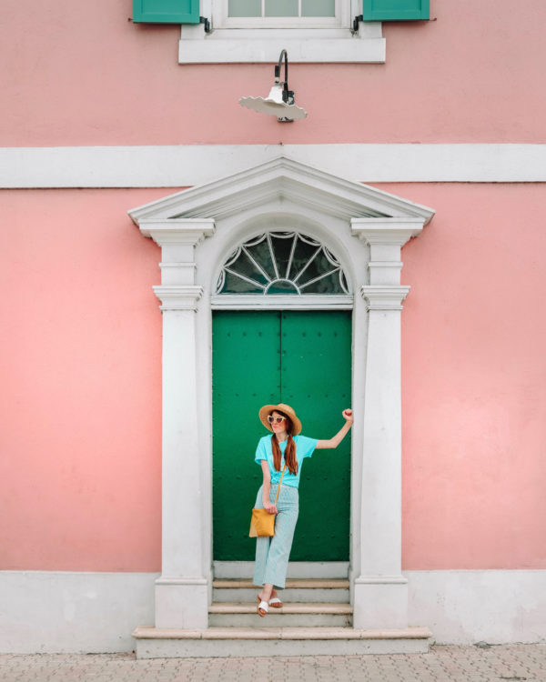 Colorful Doors in Nassau Bahamas
