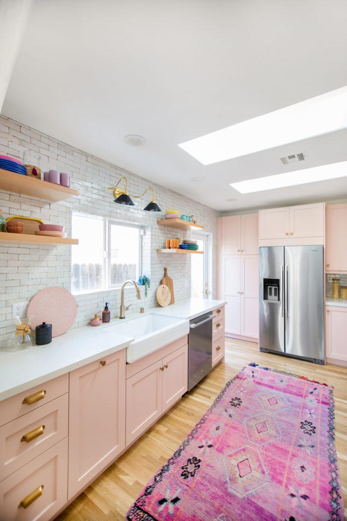 Colorful Kitchen Renovation Ideas