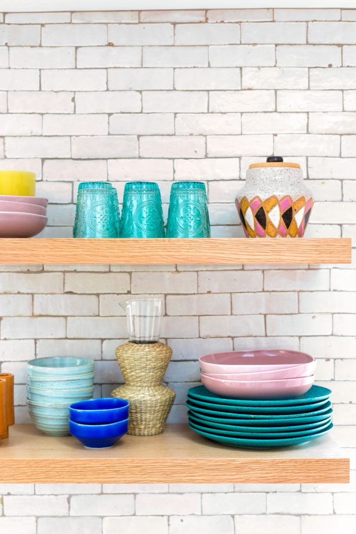 How To Style Kitchen Shelves