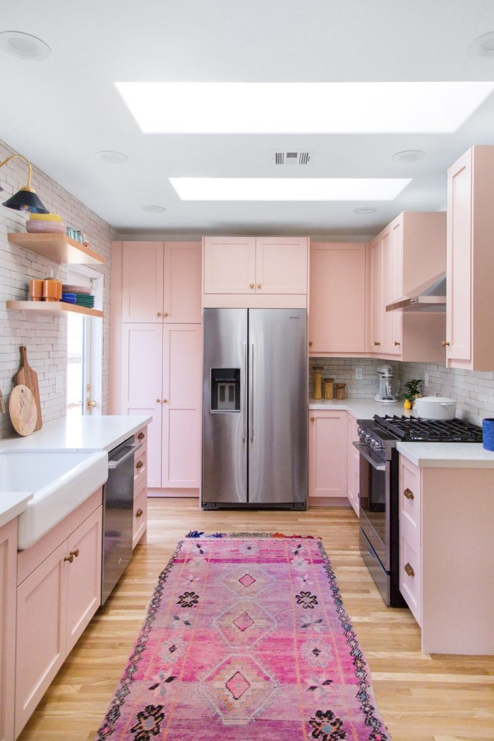 Colorful Kitchen Renovation Before & After
