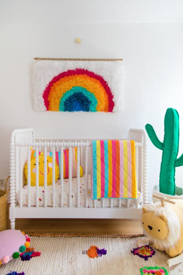 Colorful Kids Bedding - Studio DIY x Kip & Co